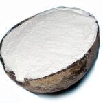 Kokosnuss gefühlt mit Kokos-Eis