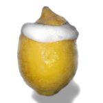 Zitrone gefühlt mit Zitrinen-Eis