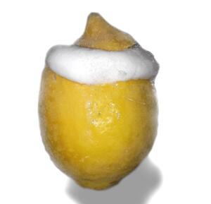 Zitrone-Eis